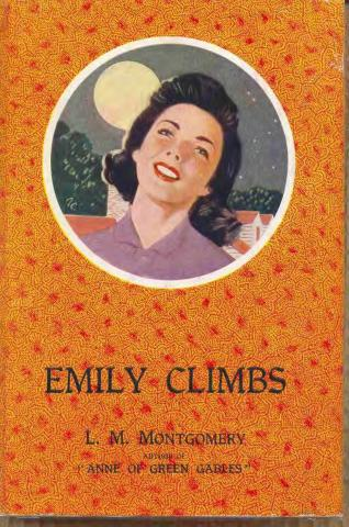 "Book cover of ""Emily Climbs."" 1953. Kindred Spaces. 069 EC-H53. Web. April17, 2019."