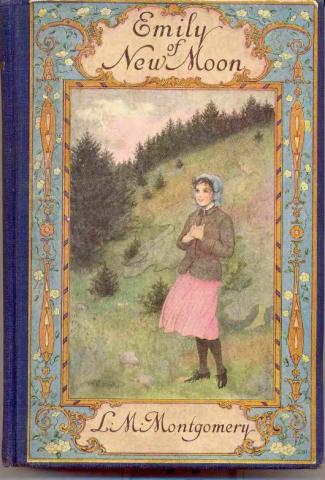 "Figure 1. Book Cover. ""Emily of New Moon."" 1923. Kindred Spaces. 542 ENM-MS-1ST. Web. April 17, 2019."