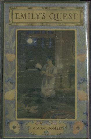 "Figure 3. Book Cover. ""Emily's Quest."" 1927. Kindred Spaces. 545 EQ-MS-1ST. Web. April 17, 2019."